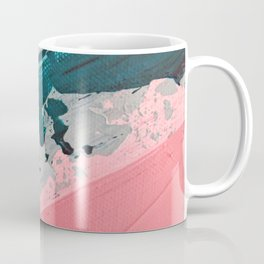 ABSTRACT STREAM | Acrylic abstract art by Natalie Burnett Art Coffee Mug