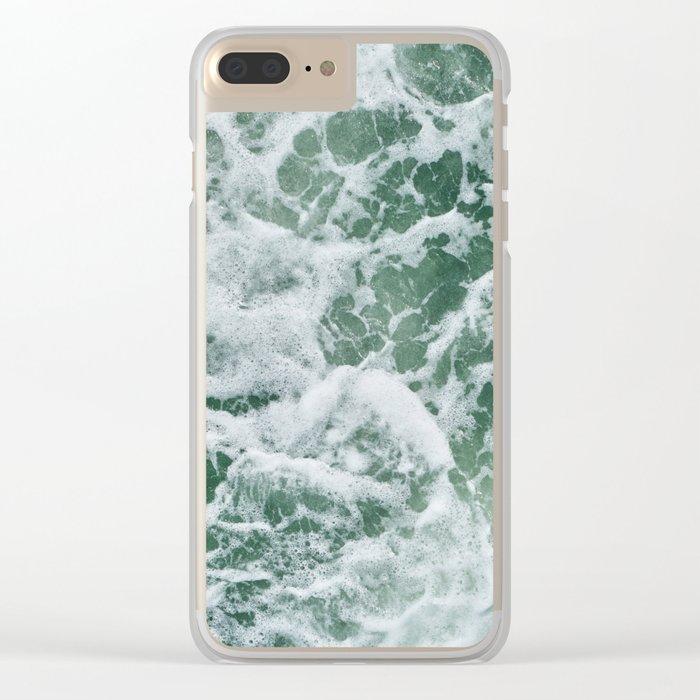 Rough Seas Clear iPhone Case