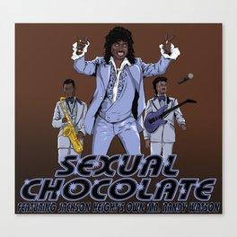 Sexual Chocolate Canvas Print