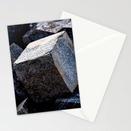 As Hard As Granite Stationery Cards