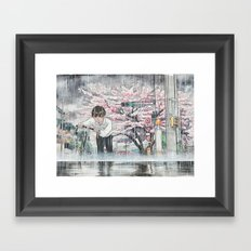 Bicycle Boy 06 Framed Art Print