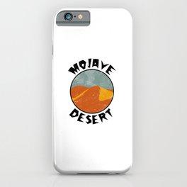 Mojave Desert  TShirt Deserts Shirt Sand Dune Gift Idea iPhone Case