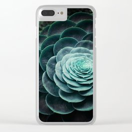 DARKSIDE OF SUCCULENTS V Clear iPhone Case