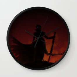 On a Mountain of Corpses Wall Clock