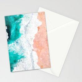 Beach Illustration Stationery Cards