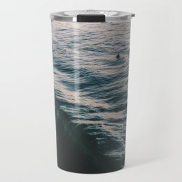 Searching the Surf Travel Mug