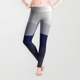 Whites and Blues Leggings