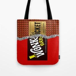 Willy Wonka Bar Tote Bag