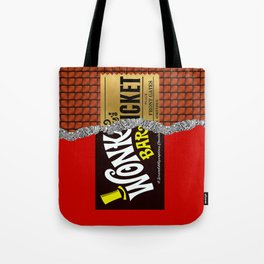Willy Wonka Bar Tote Bag