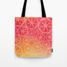 Citrus slices (red/orange) Tote Bag