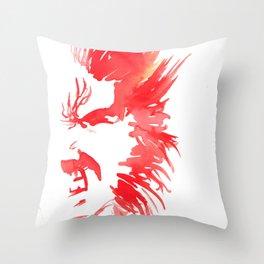 Snikt Throw Pillow