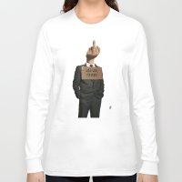 unicorn Long Sleeve T-shirts featuring Unicorn by rob art   illustration