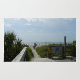 Path To The Beach Rug