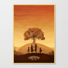 Fantastic Mr. Fox Canvas Print