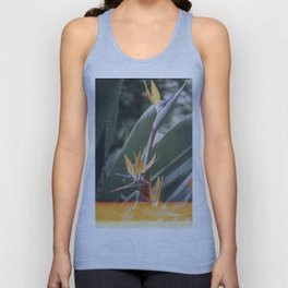 Bird of paradise Unisex Tank Top