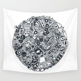 Pop Cult Wall Tapestry