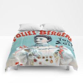 La Belle Otero aux Folies Bergère 1894 Comforters