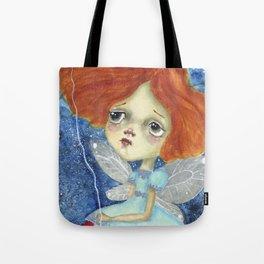 Holding A Star, Celeste the Fairy Tote Bag