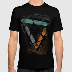 Skatestriangles Mens Fitted Tee Black SMALL