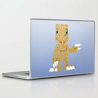 digimon Laptop & iPad Skins featuring Argumon by pokegirl93
