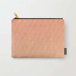 Relaxing Diamond Pattern - Sunset Carry-All Pouch