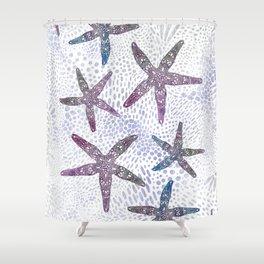 Sea Star Dance Shower Curtain