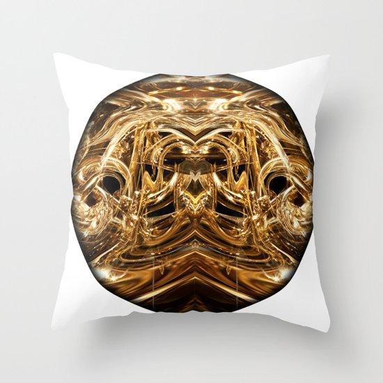 oro tre Throw Pillow