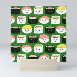 Yatta, Sushi! Mini Art Print