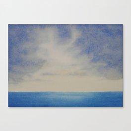 Sky and Ocean I Canvas Print