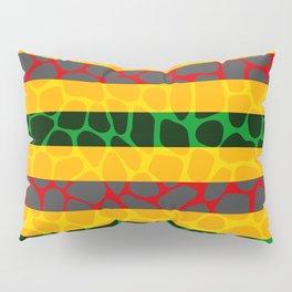 African Giraffe Multicolor Animal Print Pillow Sham