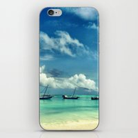hakuna iPhone & iPod Skins featuring Hakuna Matata by Anna Andretta