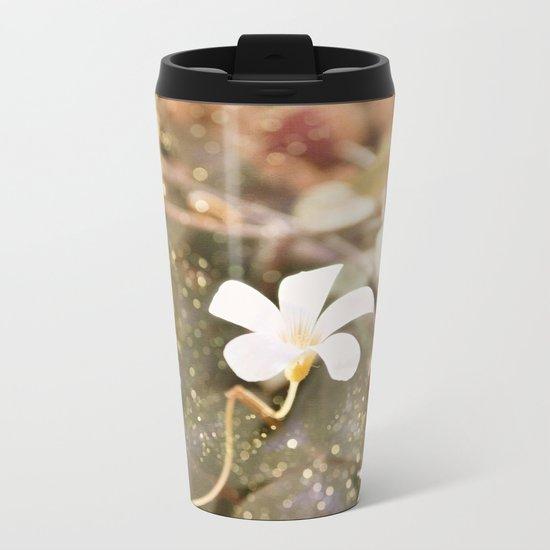 Pastel vibes floral III Metal Travel Mug