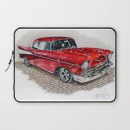 57 Chevy Laptop Sleeve