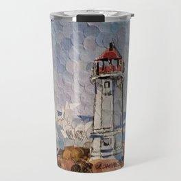 """"""" Lighthouse """" Travel Mug"""
