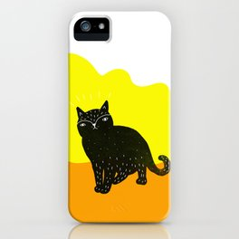 Cats Life 3 iPhone Case