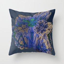 Mean Coral Throw Pillow