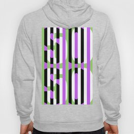 'SO SO 50 50' - Typographical Print Hoody