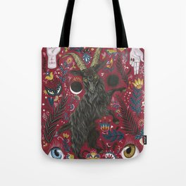 Black Phillip Tote Bag