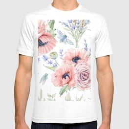 Fall Country Flowers T-shirt
