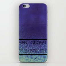 When I Grow Up... iPhone & iPod Skin