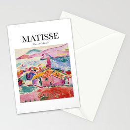 Matisse - View of Collioure Stationery Cards
