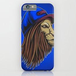 Lion Wild Big Cat Roar iPhone Case