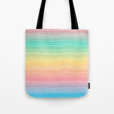 Rainbow Colours Tote Bag
