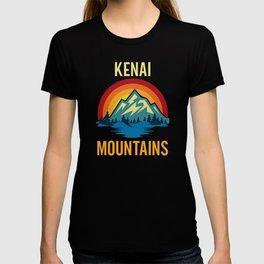 Kenai Mountains Sunset T-shirt