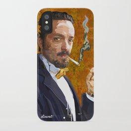 PORTRAIT: Gentleman iPhone Case