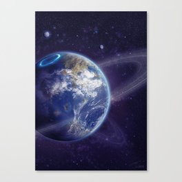 Another Earth Canvas Print