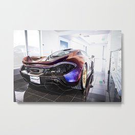 McLaren P1 - Cerberus Pearl - Rear Angle Right Metal Print