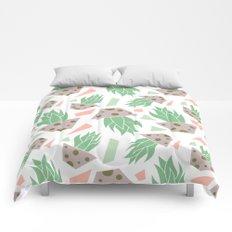 plant pattern Comforters