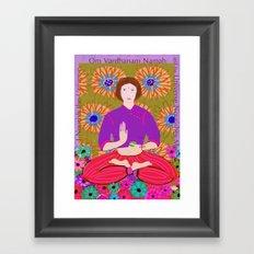 Lady Buddha Framed Art Print