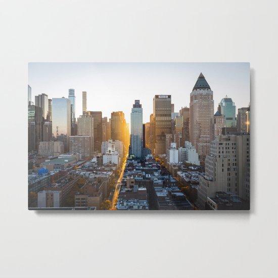 Beautiful NYC Metal Print